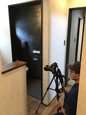 泉ヶ丘 モデルハウス トイレ 写真撮影